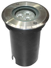 HLED-670/3W/30 tecnolite Lampara empotrable led exterior 3W 3000K