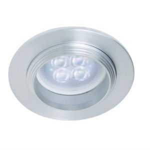 YD-605/AL tecnolite Downlight empotrable redondo