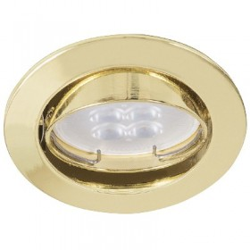 YD-330/O tecnolite Downlight led dorado