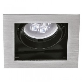 YD-400-1/S tecnolite Downlight cuadrado led