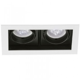 YD-400-2/B tecnolite Downlight led doble