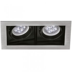 YD-400-2/S tecnolite Downlight led doble 100w