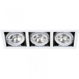 YD-500-3/B tecnolite Led downlight triple
