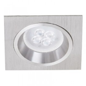 YD-620/AL tecnolite Downlight cuadrado led