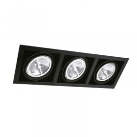 YD-700-3/N tecnolite Downlight led negro