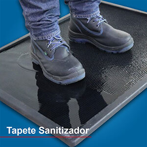 tapete desinfectante sanitizante